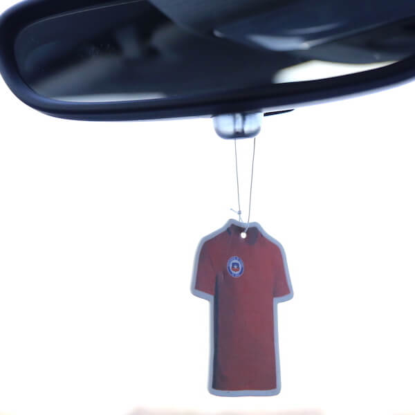 football shirt air freshener