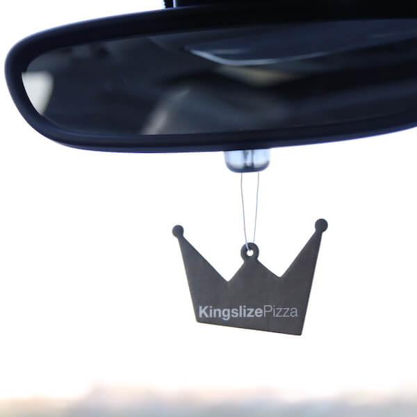 gold crown car air freshener