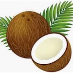 personalized car air freshener coconut fragrance