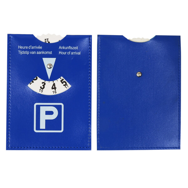 pvc leather car parking timer