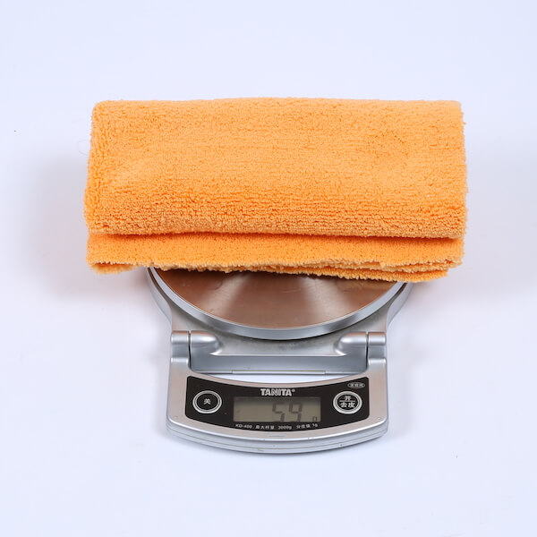 16x16 inch edgeless towel weight