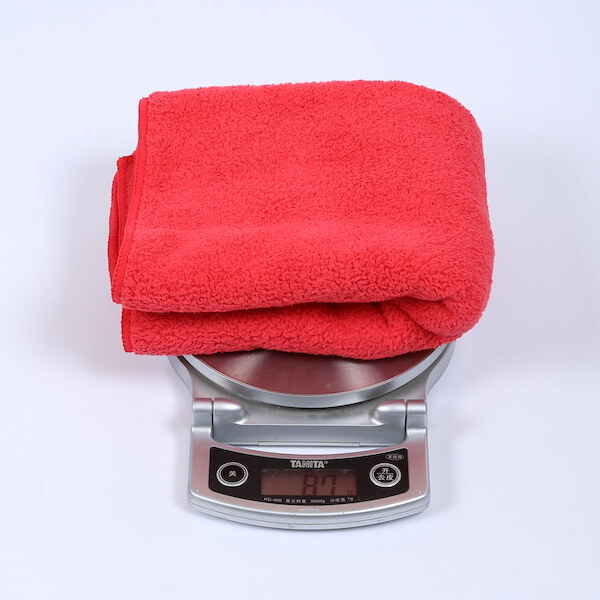 car polishing towel
