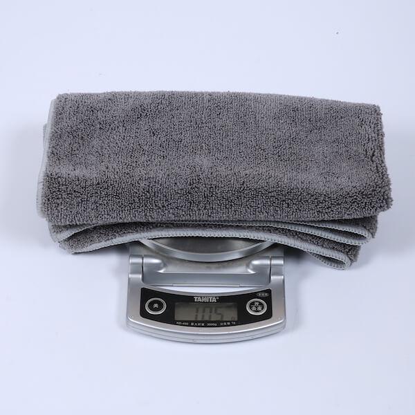 drying car towel