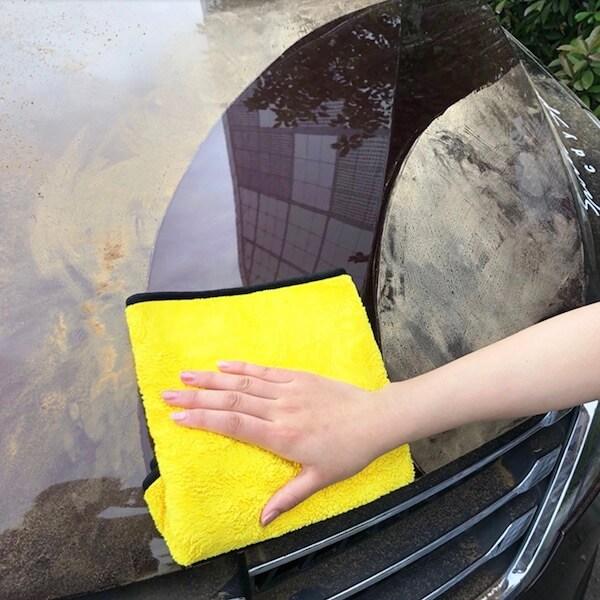 easy cleaning microfiber towel