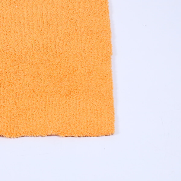 edgeless microfiber car wash towel detail