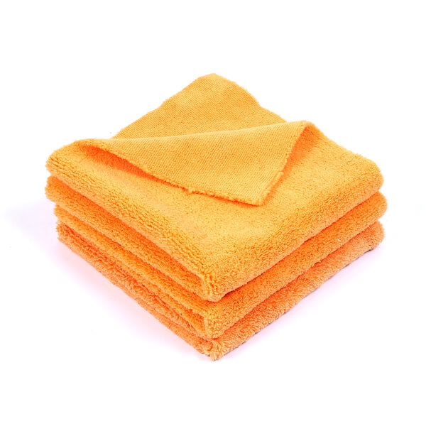edgeless microfiber polishing towel