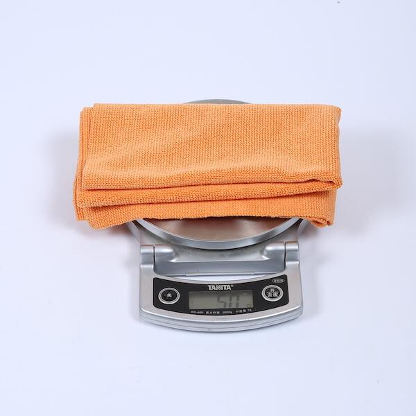 edgeless microfiber towels