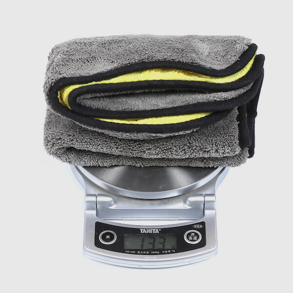 microfiber polishing towel weight