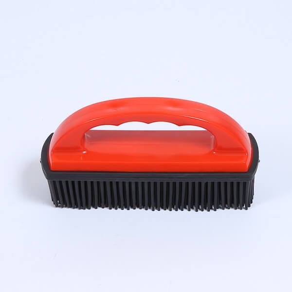 rubber hair remover brush
