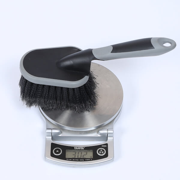 tire and wheel cleaning brush